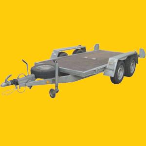 PKW Baumaschinen Anhänger