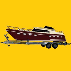 Anhänger Boot Transporter