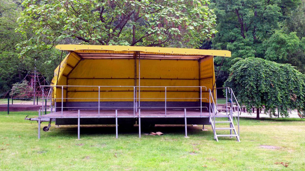 Eventbühne, open air bühne, outdoor bühne
