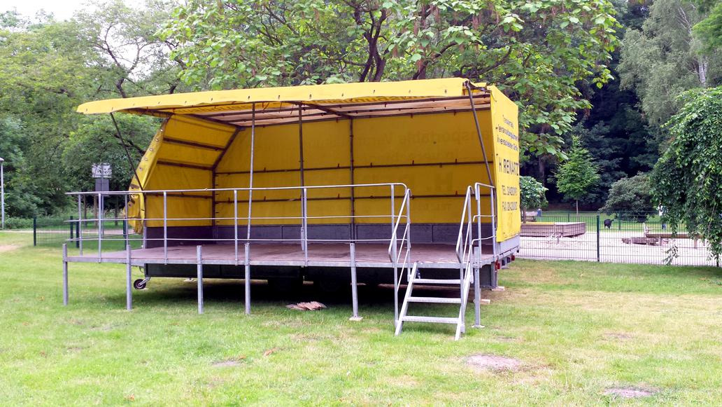 mobile bühne, Veranstaltungsbühne, Konzertbühne, Eventbühne