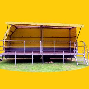 Eventbühne / Veranstaltungsbühne / Konzertbühne