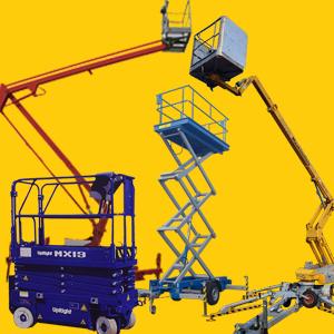 PKW Anhänger Arbeitsbühnen, Hebebühnen, Scherenhebebühnen, mobile Arbeitsbühnen...