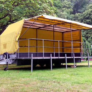 PKW Veranstaltungsbühnen, mobile Bühnen, Festival Bühne, Eventbühne, Konzertbühne, Open-Air-Bühne
