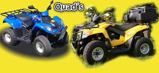 quads mieten