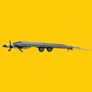 Wohnwagen-Transporter